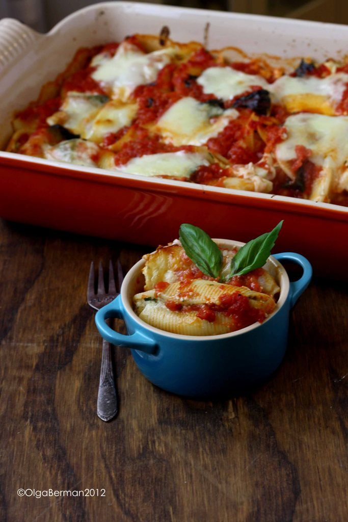 Lidia Bastianich 39 S Baked Stuffed Shells Recipe What 39 S
