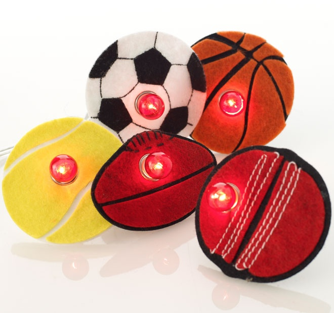 Rouge Living String Lighting Sports Ball