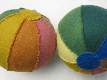 Felt ball tutorial
