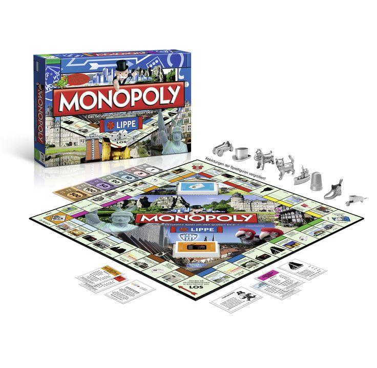 #Monopoly #Lippe #CityEdition #Hermannsdenkmal #Detmold #Lemgo