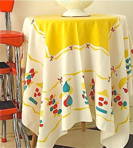 Retro Kitchen Linens: 272 Best Vintage Linens I Like Images On Pinterest