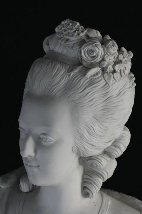 Bust of Marie Antoinette. 1780's.