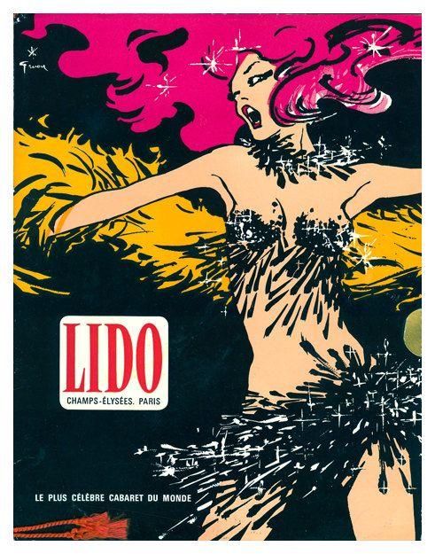 Lido Le Plus Celebre Cabaret du Monde Vintage by WallArty on Etsy