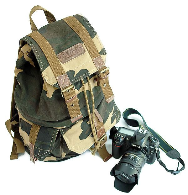 Retro canvas shoulder bag SLR camera bag camera backpack Discounted Smart Gear http://discountsmarttech.com/products/retro-canvas-shoulder-bag-slr-camera-bag-camera-backpack/