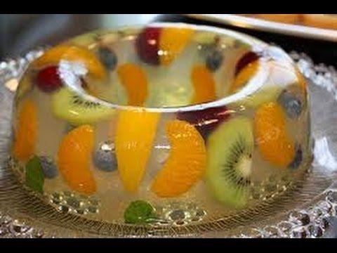 Cómo preparar Gelatinas Artísticas, paso a paso / Recipe of art jellies #carolinasplajoseginer