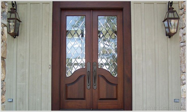Best 25 entry door with sidelights ideas on pinterest - Exterior glass panel french doors ...