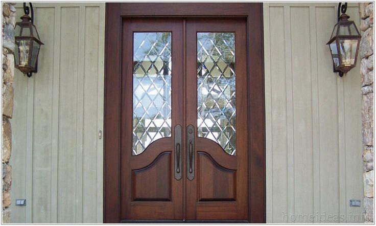 Best 25 entry door with sidelights ideas on pinterest - Exterior fiberglass french doors ...