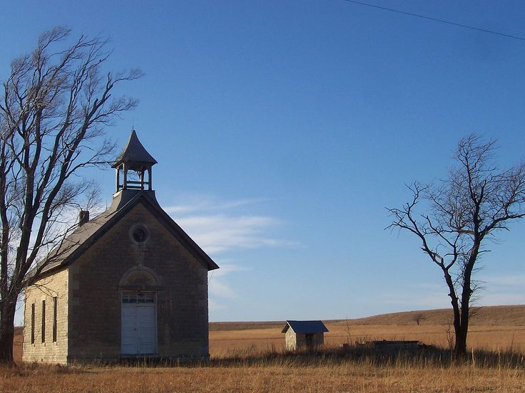 Bichet School, District 34 in Marion County, Kansas.