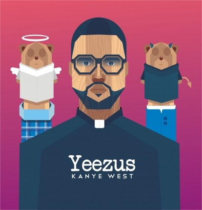 """Designer fattah setiawan and others featured in The Inquisitr's """"Thought Kanye West's 'Yeezus' Cover was Lame? Design your Own!"""""""