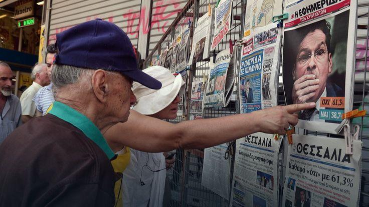 """""""L'Osservatore Romano"""": referendum w Grecji okazją, by zmienić UE"""
