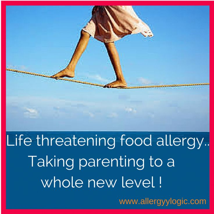 Parenting is a demanding role and if you have a child with severe life threatening food allergies thrown into the equation, it's probably a little more challenging and difficult at times than you would like...Oh the fine line we walk as allergy parents!