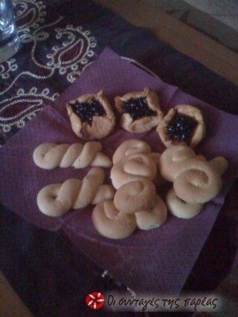 Πεντανόστιμα κουλουράκια βανίλιας (ζαχαροπλαστείου) που θα λατρέψουν μικροί και μεγάλοι...σίγουρη επιτυχια!!! GREEK Vanilla Cookies