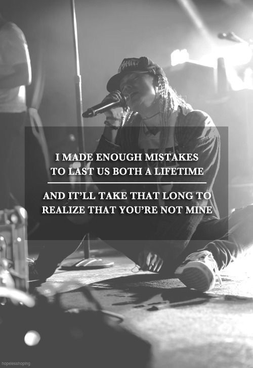 Tonight Alive- You Don't Owe Me Anything Sad/Bands/B&W blog
