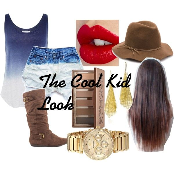 The Cool Kid Look by sophee-xoxo on Polyvore featuring Velvet by Graham & Spencer, Levi's, Report, Elsa Peretti, Nine West, Charlotte Tilbury and Urban Decay