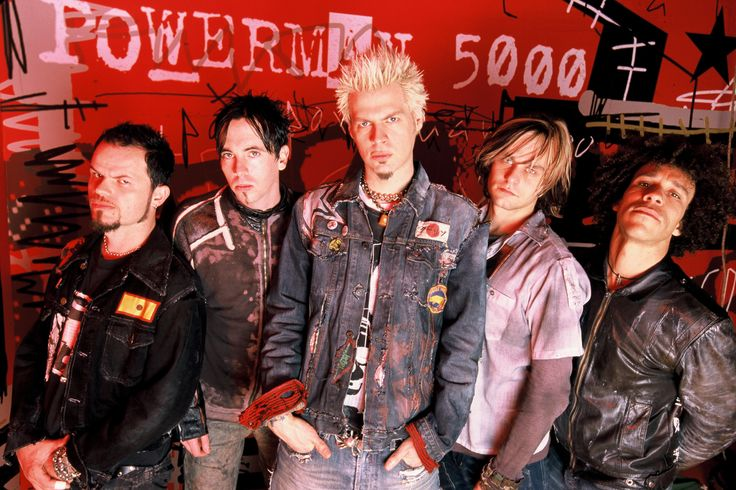 Powerman 5000 - Saw them live at Wing Ding in Rockford, IL May 2009