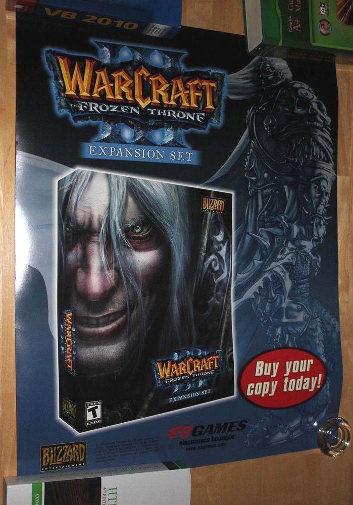 Warcraft III Frozen Throne  Poster