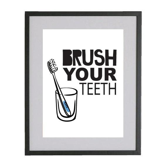 perfect print for the boys' bathroom