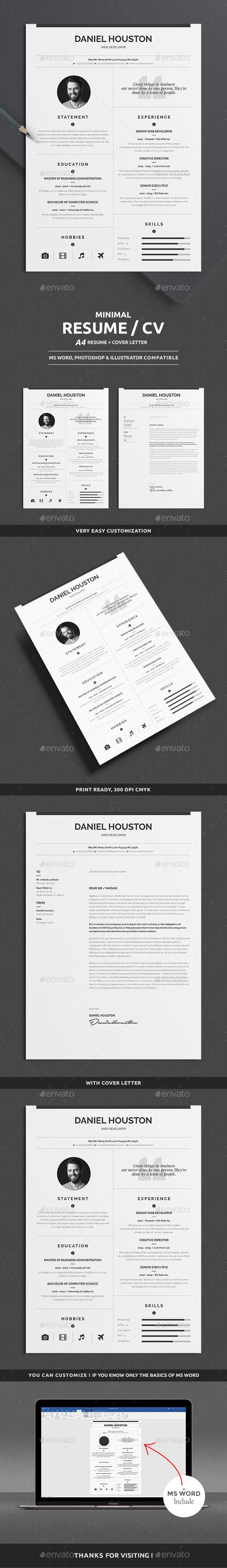 Clean Resume Download%0A  simple  clean  minimalist  modern  professional  Resume  template  design