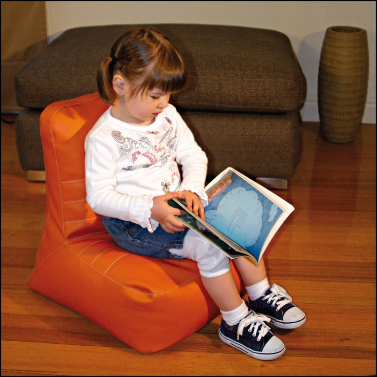 A comfortable bean bag for children 1to 6 years that is tough enough to play rough!