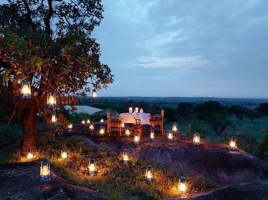 Dinner in the Serengeti