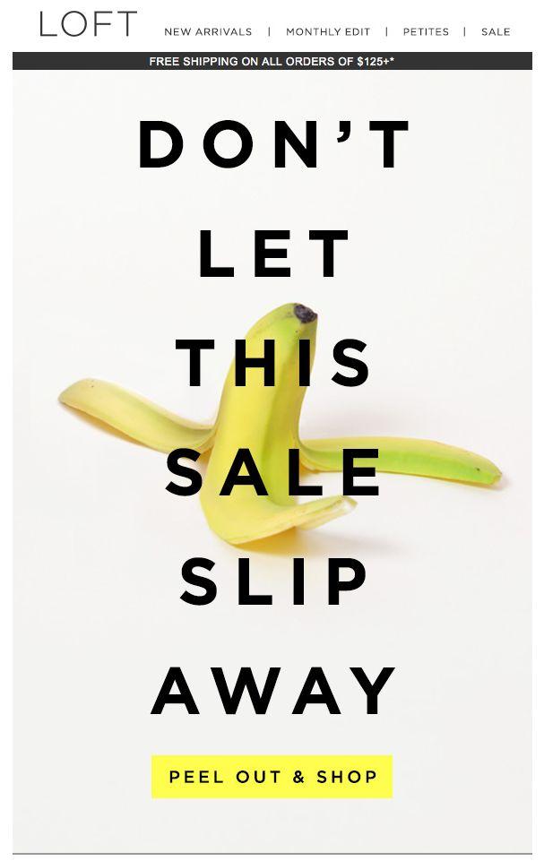 This FLASH sale is bananas - LOFT
