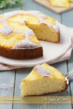 Torta ananas e cocco soffice