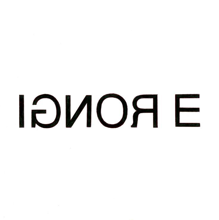 #Ignore #logo #verbicon Morgan Mosshart '17: Type Placement