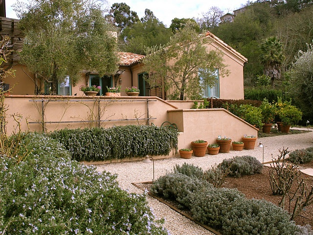Tuscan Front Yard Landscaping: 21 Best Images About Tuscan Landscape Design On Pinterest