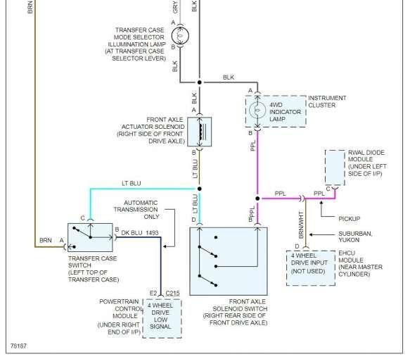 Gem 2001 Ford F350 Transfer Case Wiring Diagram