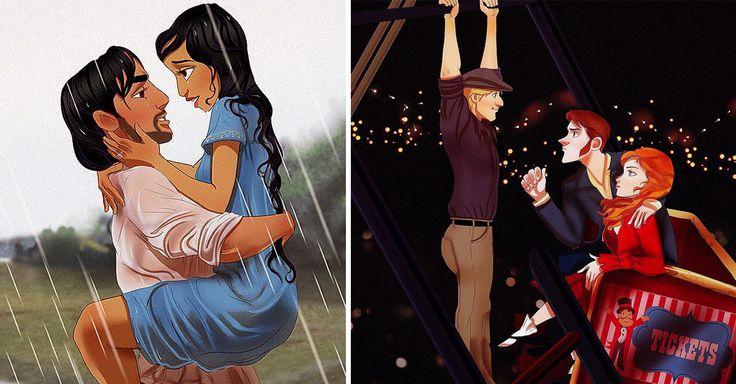 Hemos visto a las princesas Disney desde los ojos de los creativos ilustradores como chicas rudas y llenas de tatuajes; la hemos visto en su modo más trendy; e incluso como las chicas de la Serie The Orange is the New Black. Pero a la ilustrador de Massachusetts, Isaiah Sthephens, le hizo un gran