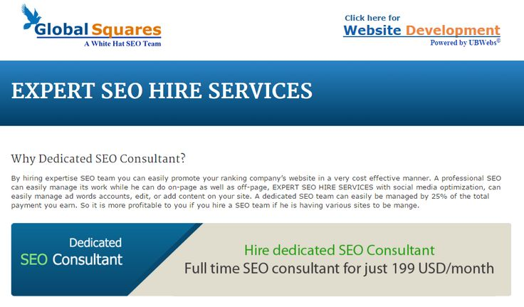 cost for seo services