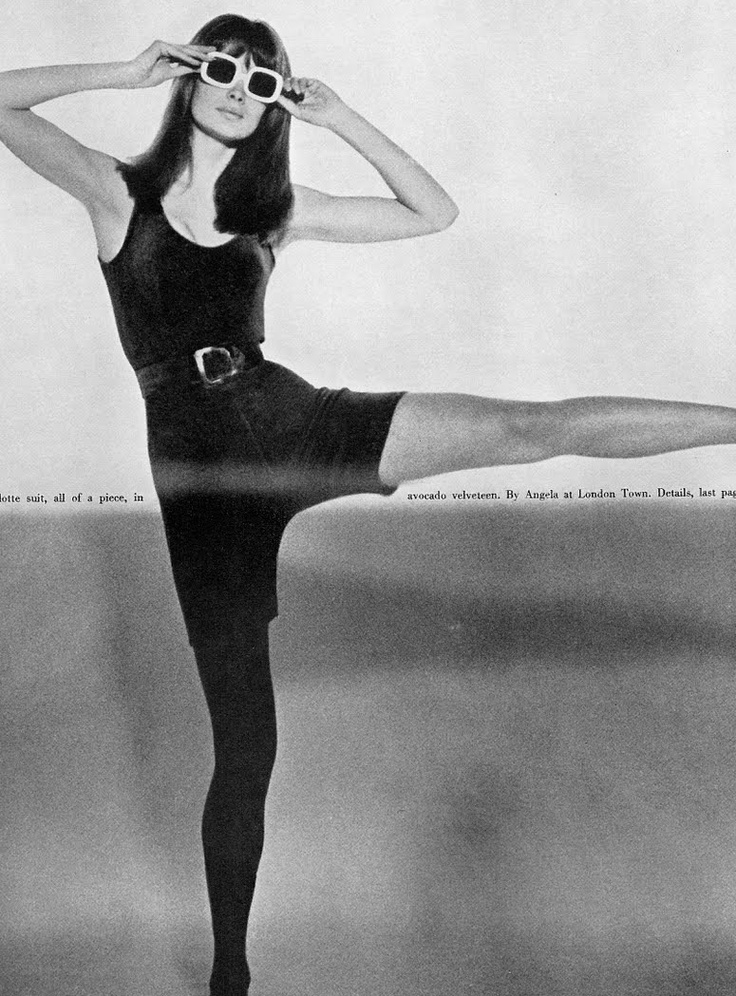 Jean Shrimpton Vogue UK, April 15th, 1966