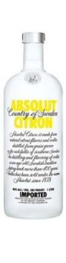 Absolut Citron - Preço: 15.58€ | Vodka | Onwine