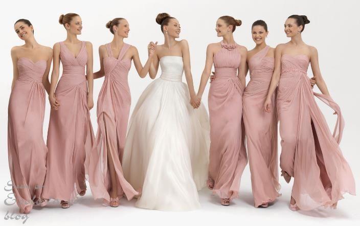 Вечернее платье фото подружки невесты