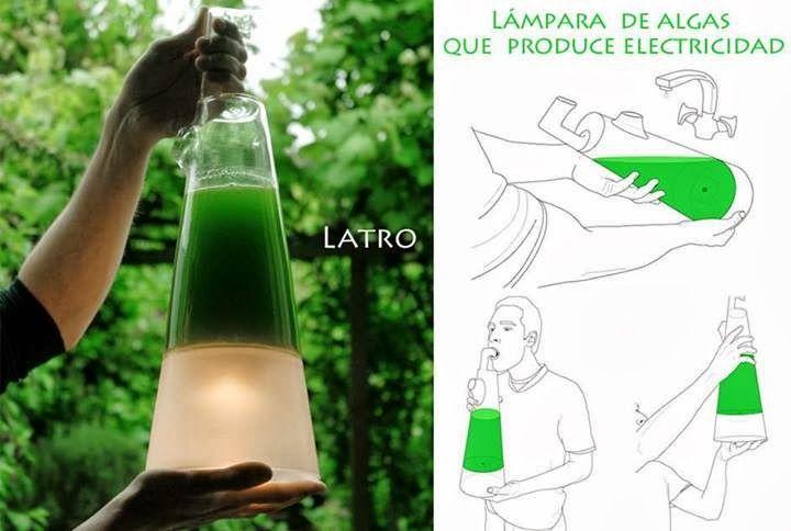Una lámpara de algas con iluminación gratuita mediante el proceso de la fotosíntesis. Latro es una lámpara colgante que extrae su energía de las algas y éstas sólo necesitan luz solar, dióxido de carbono (CO2) y agua para sobrevivir. La fotosíntesis es un proceso mediante el cual las plantas, algas y algunas bacterias captan y …