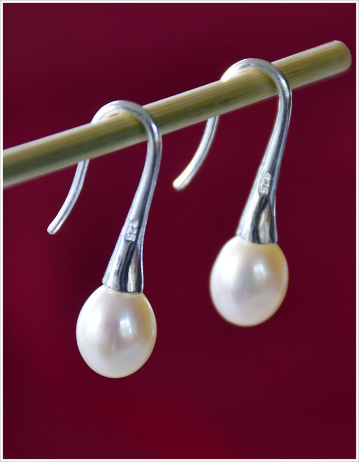 Cream Fresh Water Pearls and Sterling Silver