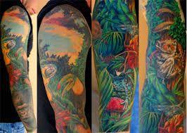 Resultado de imagen para jungle tattoo