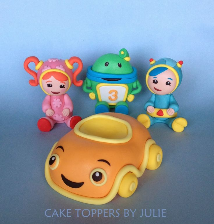 How To Make Team Umizoomi Cake Toppers
