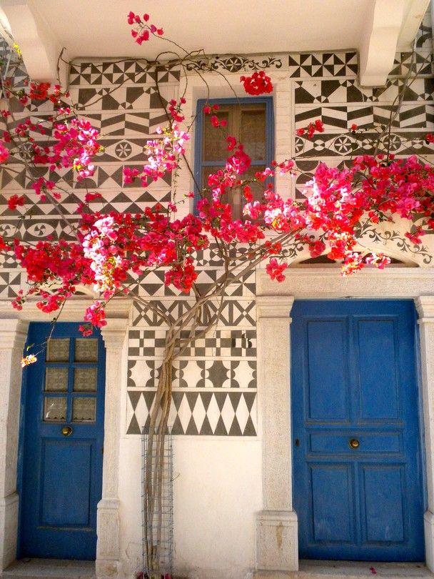 Village of Pyrgi, Chios, Greece