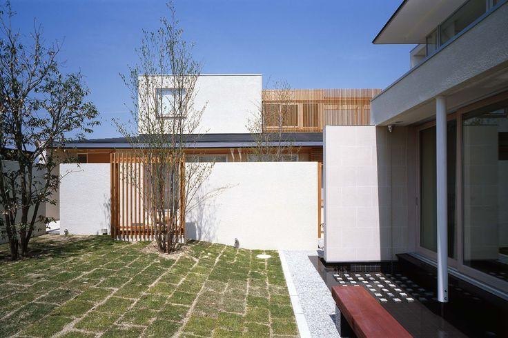 水庭のある家