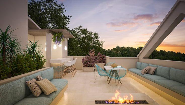 Contemporary roof design