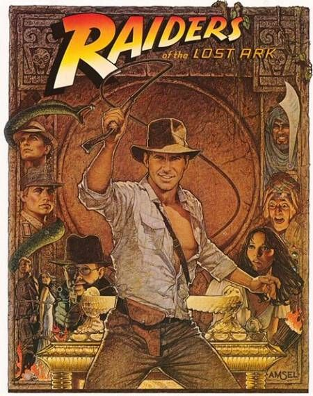 Raiders Of The Lost Ark - 1981Movie Posters, Harrison Ford, Lost Ark, Picture-Black Posters, Comics Book, Steven Spielberg, Raiders, Favorite Movie, Indiana Jones