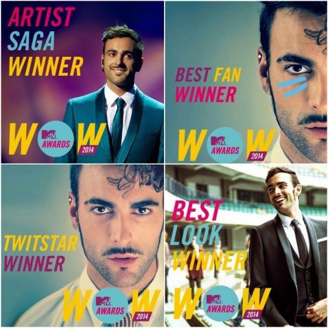 Ogae Italy: Marco Mengoni regna agli MTV Awards di Firenze