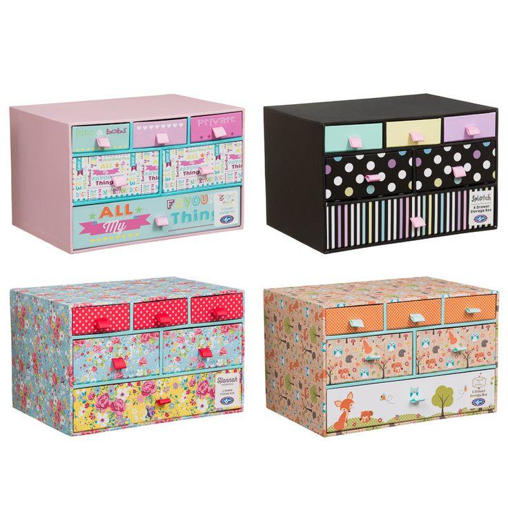 B Amp M 6 Drawer Storage Box Storage Containers