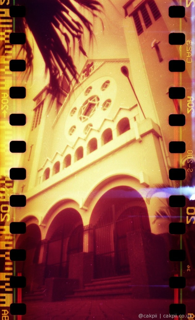 RED CURCH | Redscale Pinhole