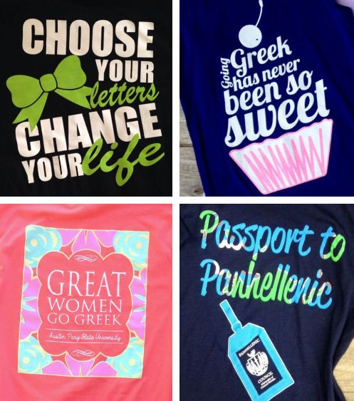 ♥ Panhellenic Council Recruitment Theme Ideas! ♥ | sorority sugar