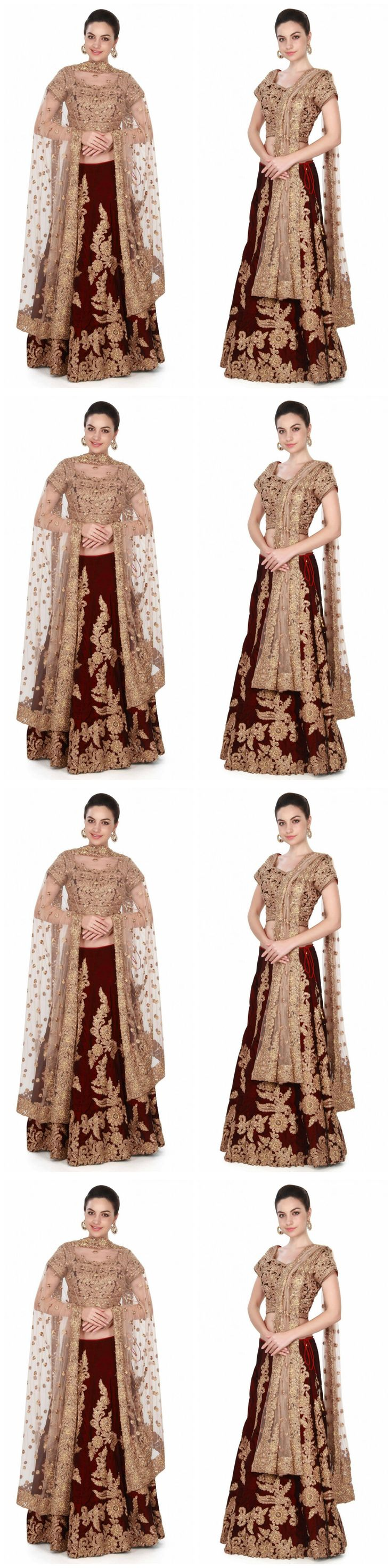 Sari Saree 155250: Designer Party Wear Indian Wedding Bridal Bollywood New Lehenga Choli Saree Sari -> BUY IT NOW ONLY: $72 on eBay!