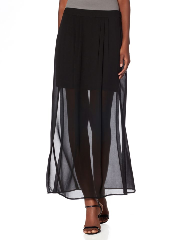 Fantastic Facetasm  Skirt Overlay Outseam Placket Jogging Pants
