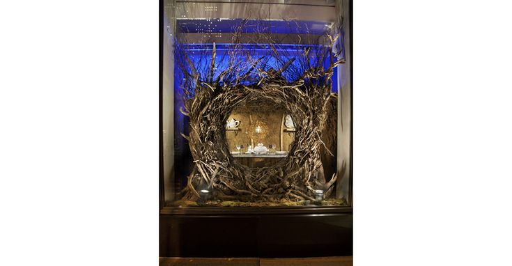 Hermes of Paris Display Window | Lighting Services Inc