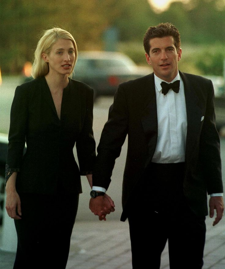"JFK Jr and Carolyn at The "" PROFILE IN COURAGE AWARDS """